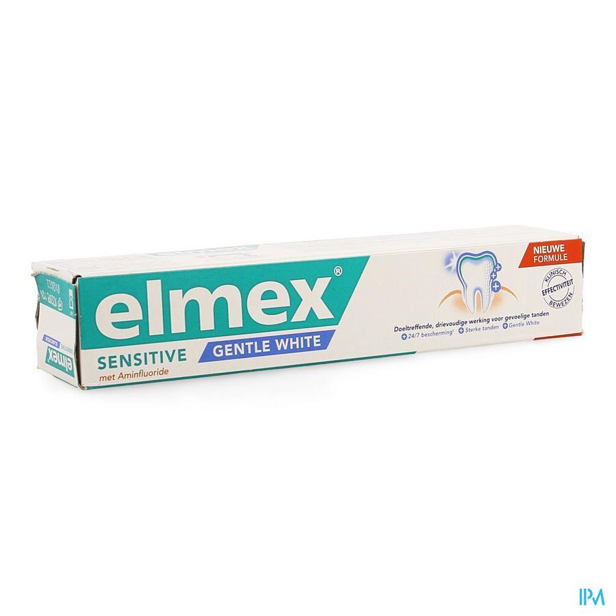 Elmex Tandpasta Sensitive Whitening Rl 75ml