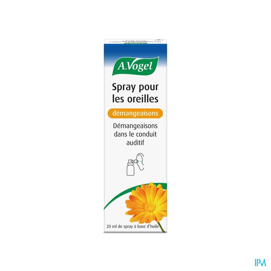A.Vogel Spray pour les oreilles démangeaisons 20ml