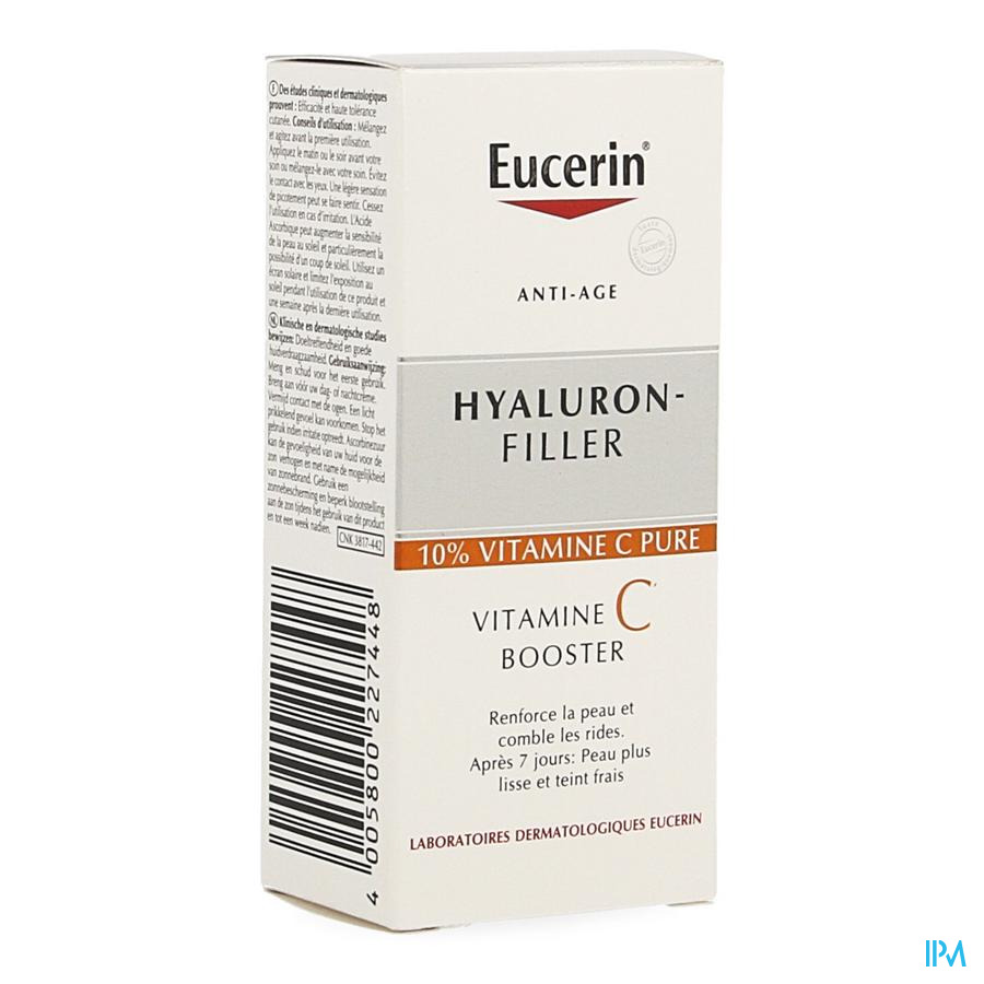 Eucerin Hyaluron Filler Vitamine C Booster 8ml