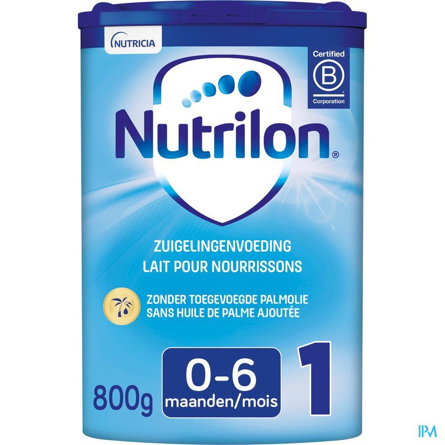 Nutrilon 1 Zuigelingenmelk baby vanaf de geboorte poeder 800g