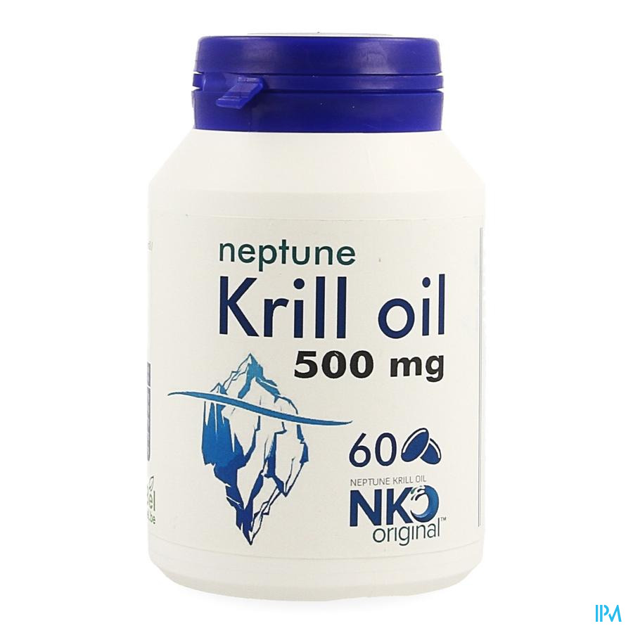 Soria Neptune Krill Oil 500mg 60 parels
