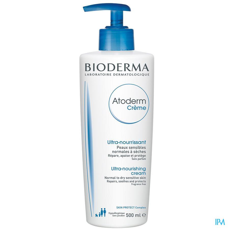Bioderma Atoderm 500 Creme Zeer Droge Huid 500ml