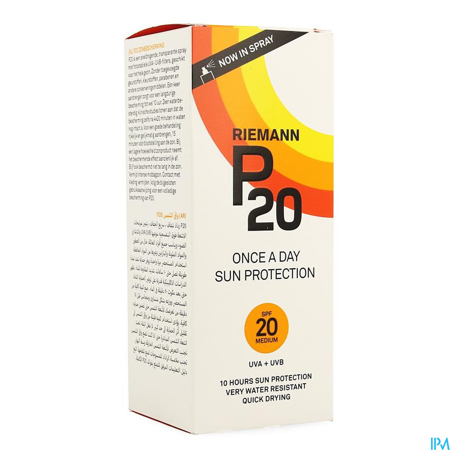 P20 Zonnespray Ip20 200ml
