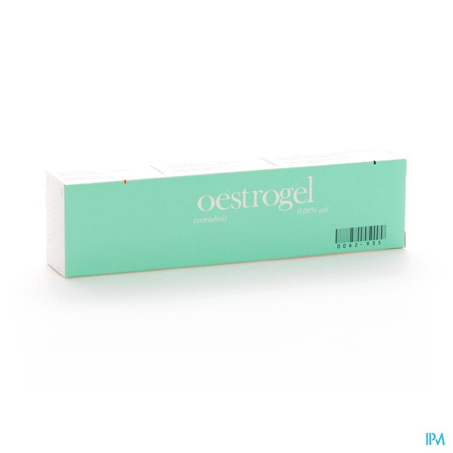 Oestrogel Gel 1 X 80g 0,06%