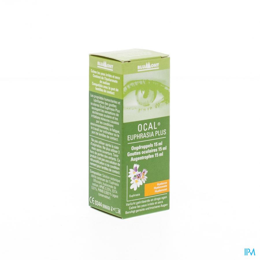 Ocal Euphrasia Plus Oogdruppels 15ml