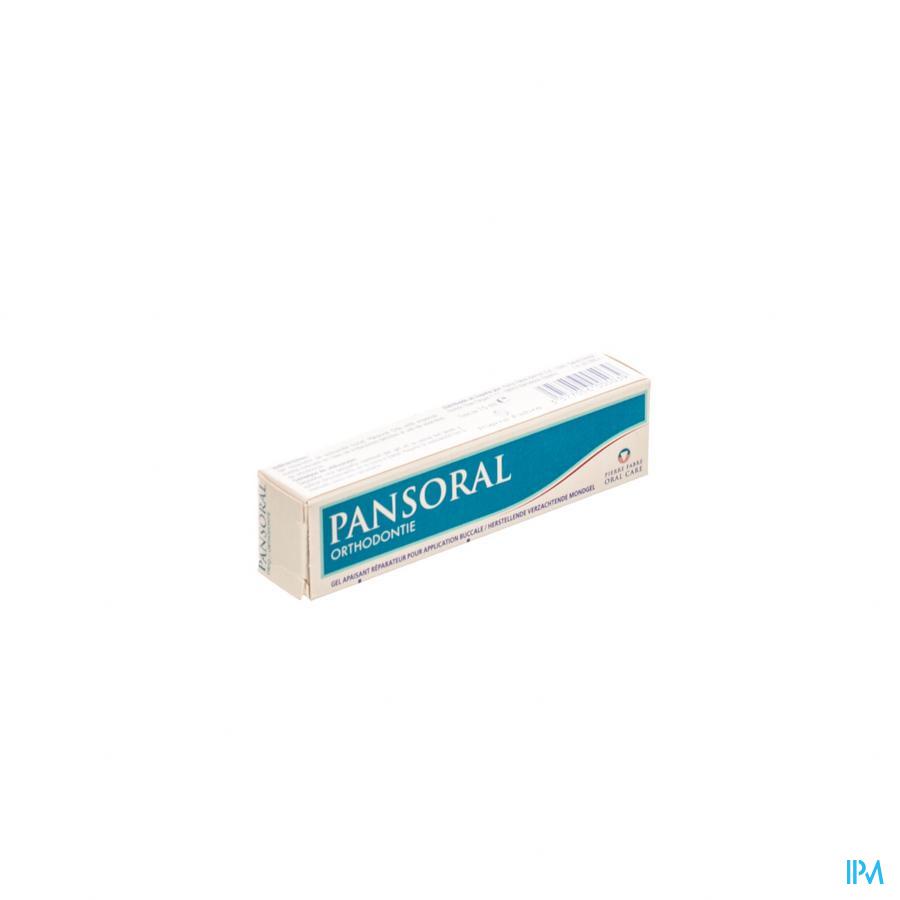 PANSORAL JUNIOR & ORTHODONTIE MONDGEL TUBE 15ML