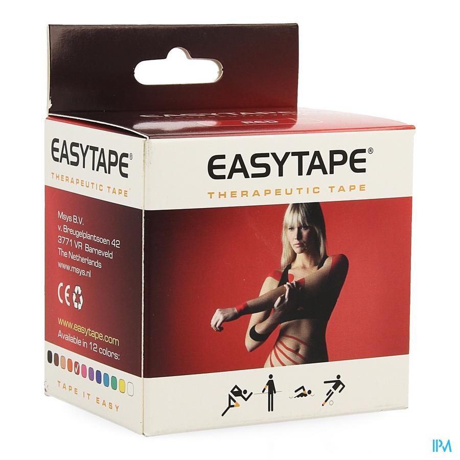 Easytape Kinesiology Tape Rood