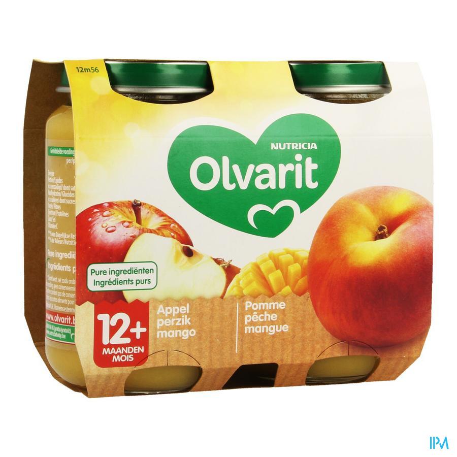 Olvarit Appel Perzik Mango 2x200g 12m56