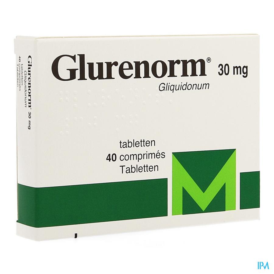 Glurenorm Comp 40 X 30mg