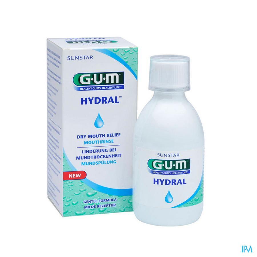 Gum Hydral Bain De Bouche 300ml 6030
