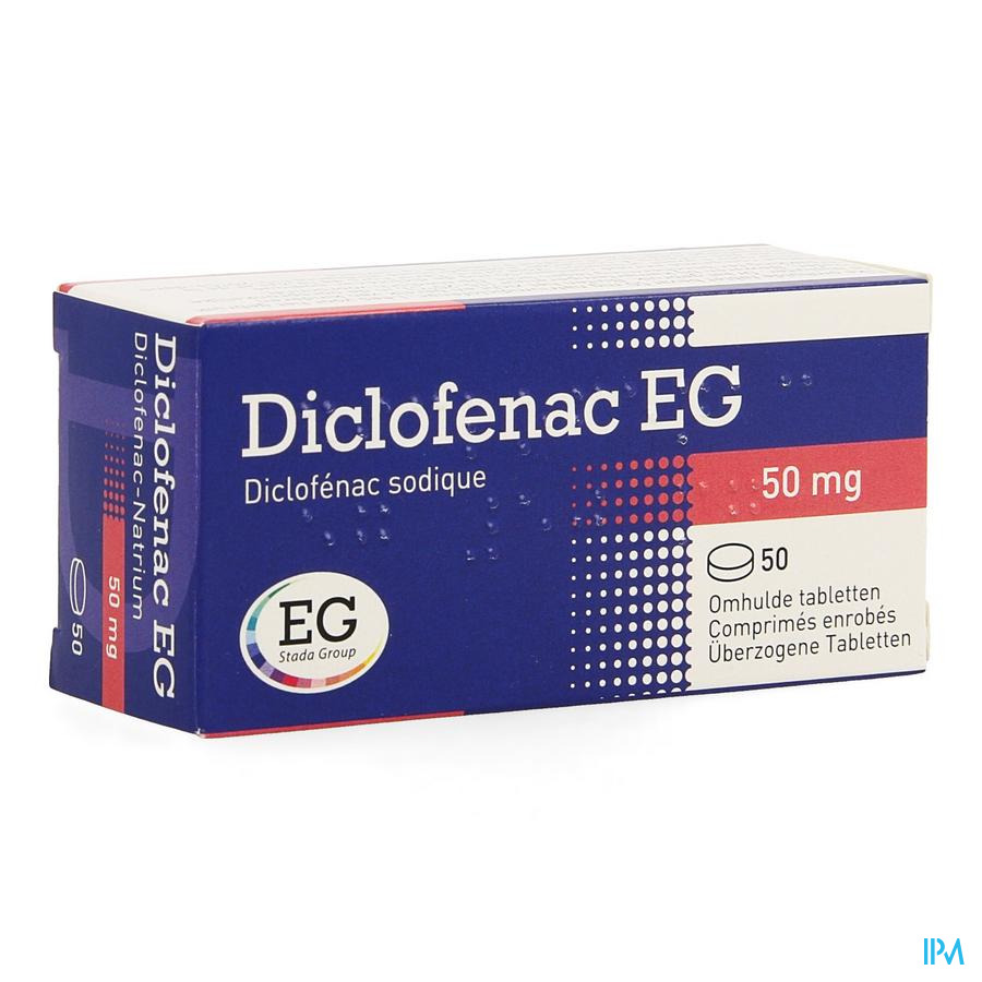 Diclofenac Eg Comp 50 X 50mg