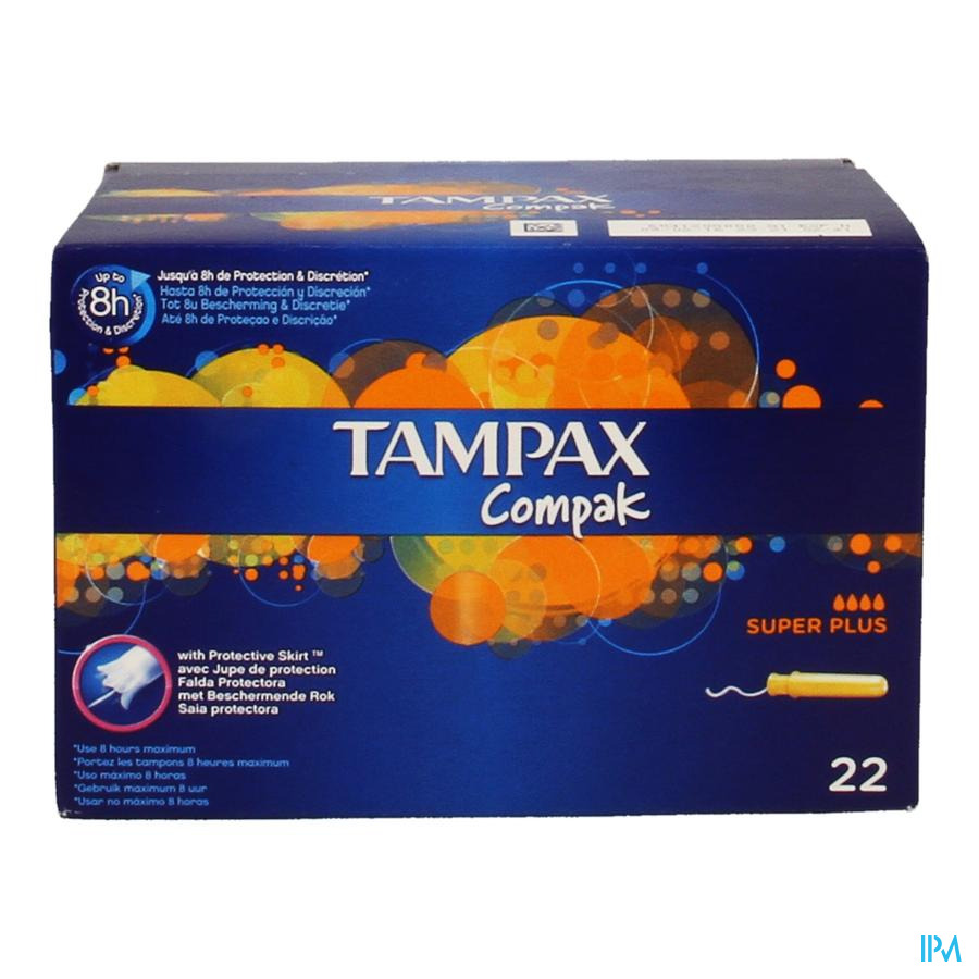 Tampax Compak Super Plus 22