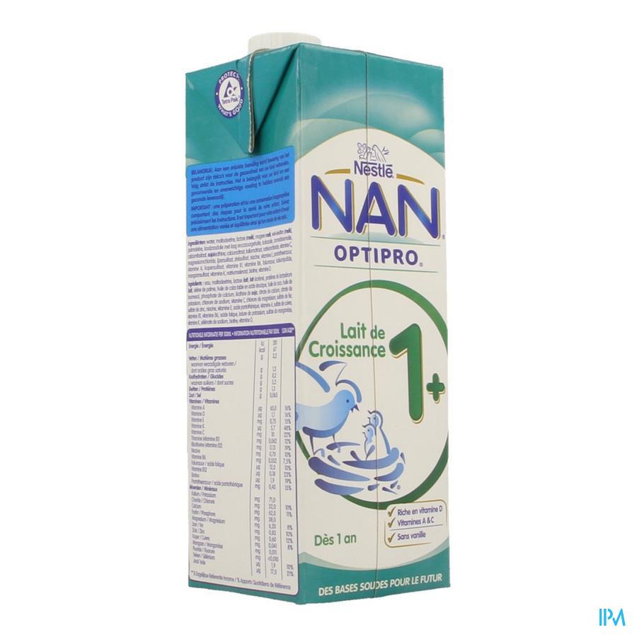 Nan Lait Croissance Tetra 1l
