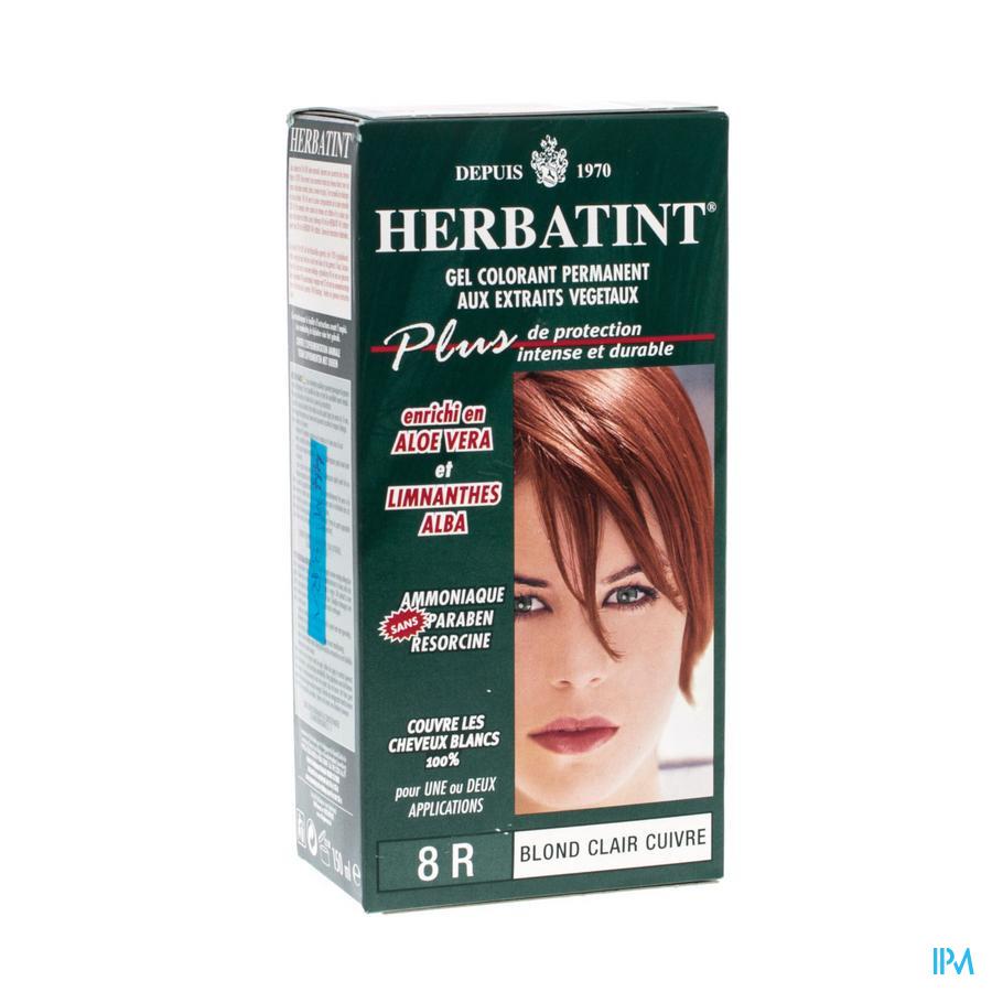 Herbatint Blond Hel Koperkleurig 8r