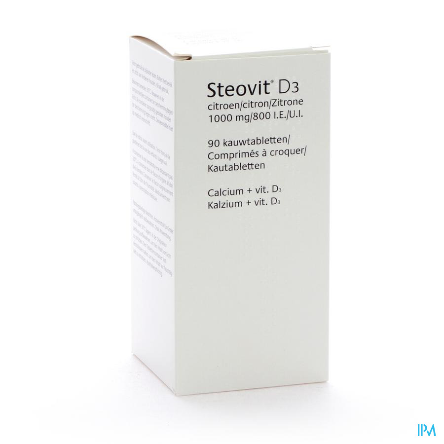STEOVIT FORTE 1000MG/800 IE  TABLCONT 90
