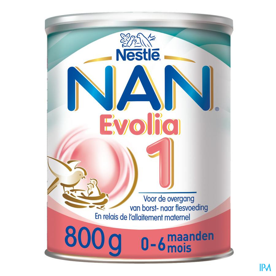 Nan Optipro Evolia 1 Melkpdr 800g