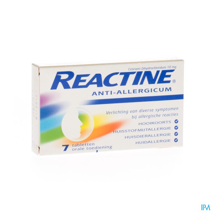 REACTINE COMP  7X10MG