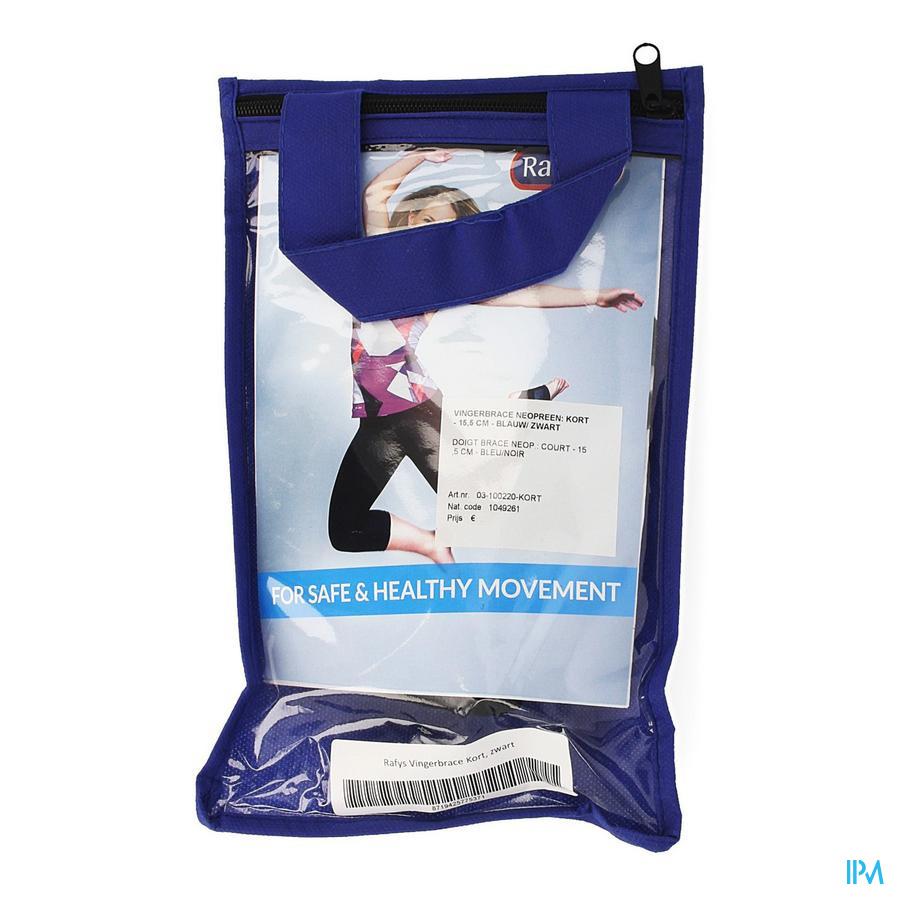 Rafys Vingerbrace Neop. Blauw Kort 15,5cm 220