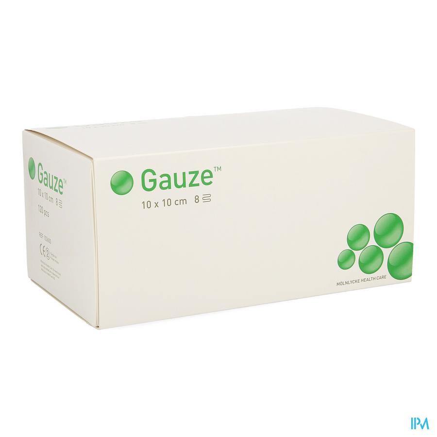Compresse Gaze Molnl N/st 8c 10,0x10,0cm 120