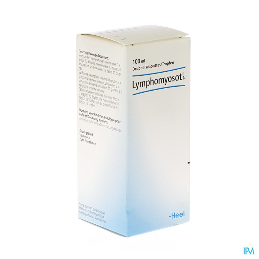 Lymphomyosot N Gouttes 100ml Heel