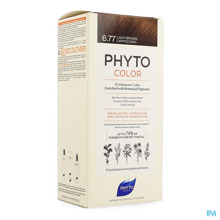 Phytocolor 6.77 Marron Clair Cappuccino