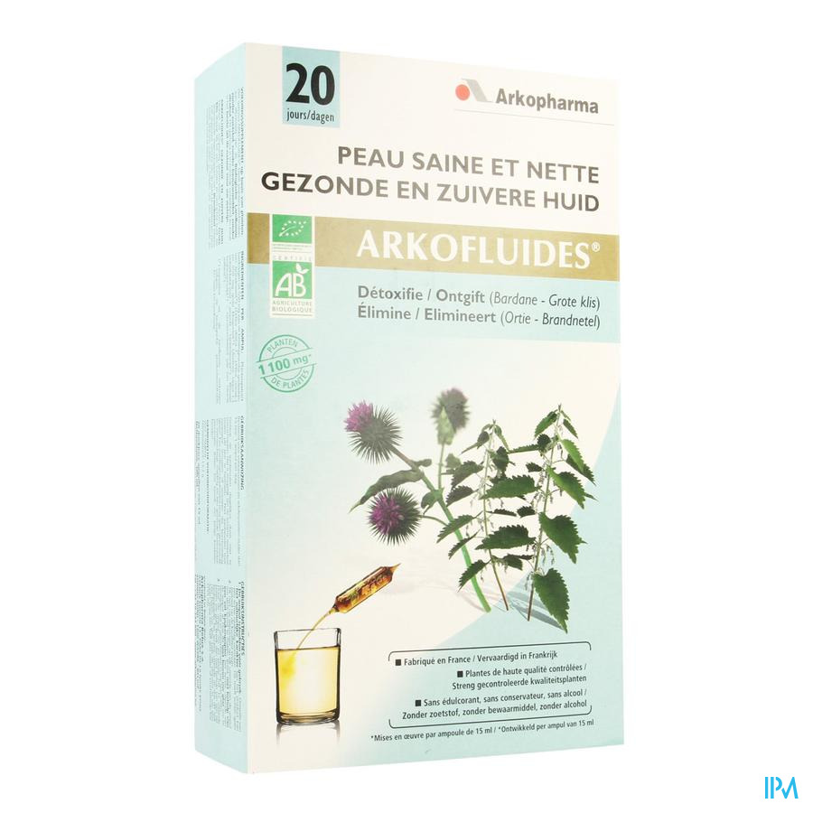 Arkofluide Zuivere Gezonde Huid Amp 20