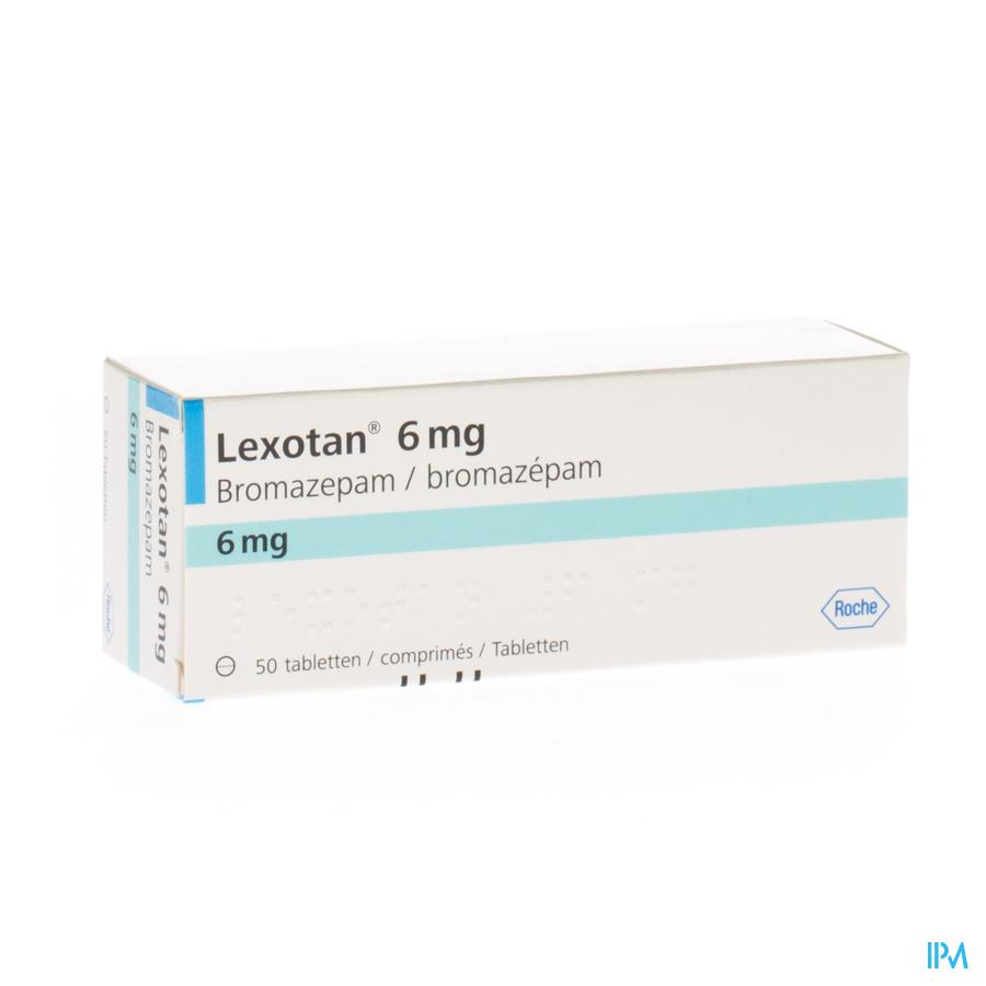 Lexotan 6mg Comp 50x 6mg