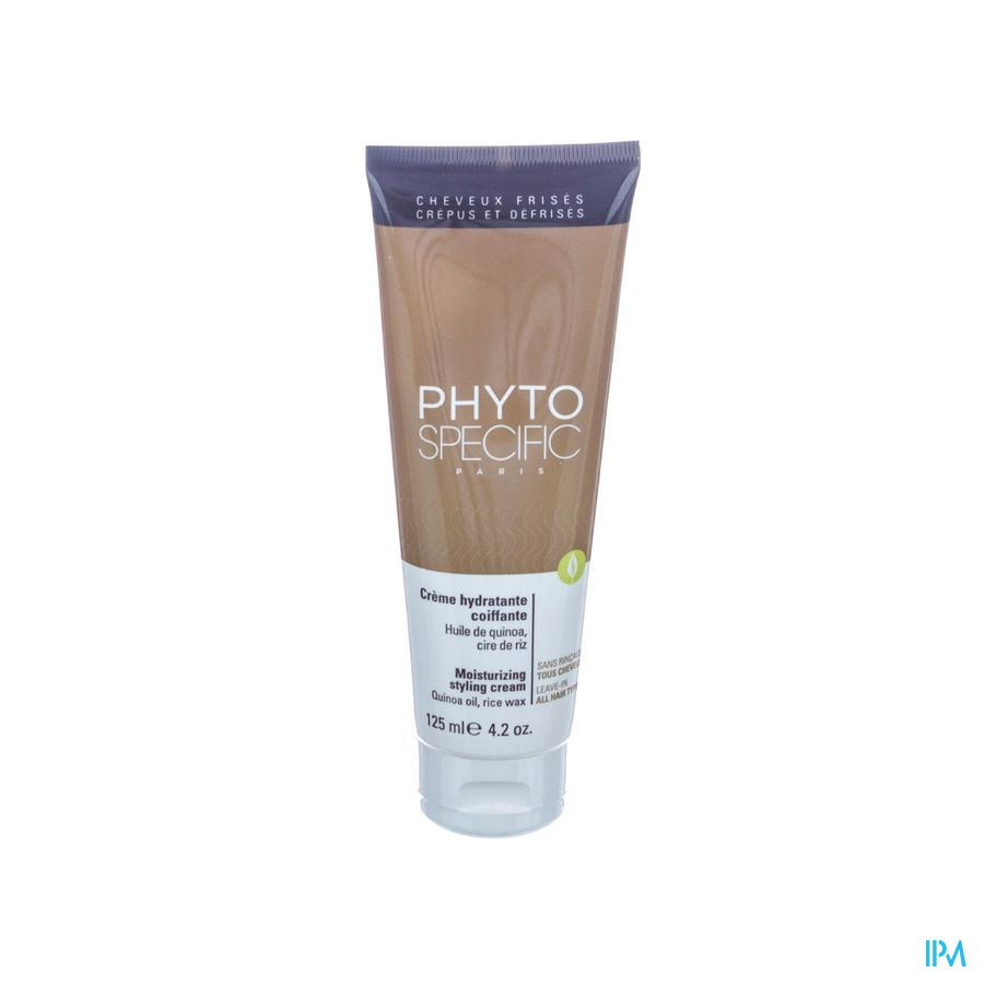 Phytospecific Hydraterende Creme Styling Tbe 125ml
