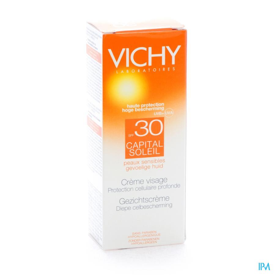 Vichy Cap Sol Ip30 Cr Vis Peau Sens Ps 50ml