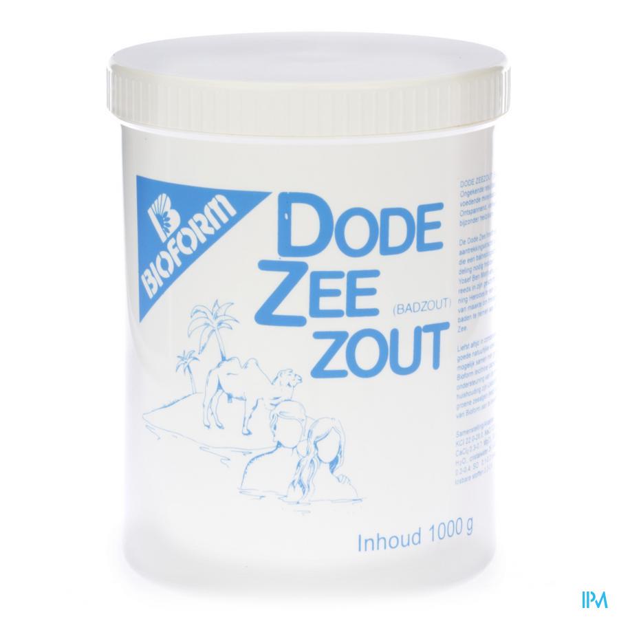 Bioform Zout Dode Zee 1kg