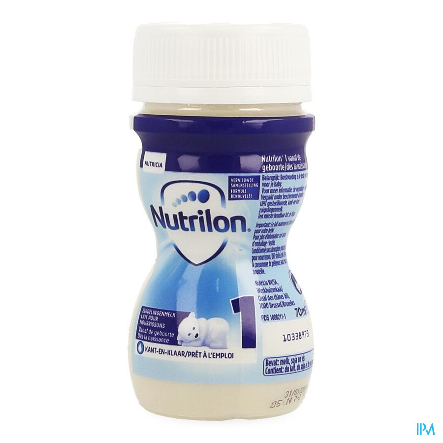 Nutrilon 1 Mini Flesje 1x70ml
