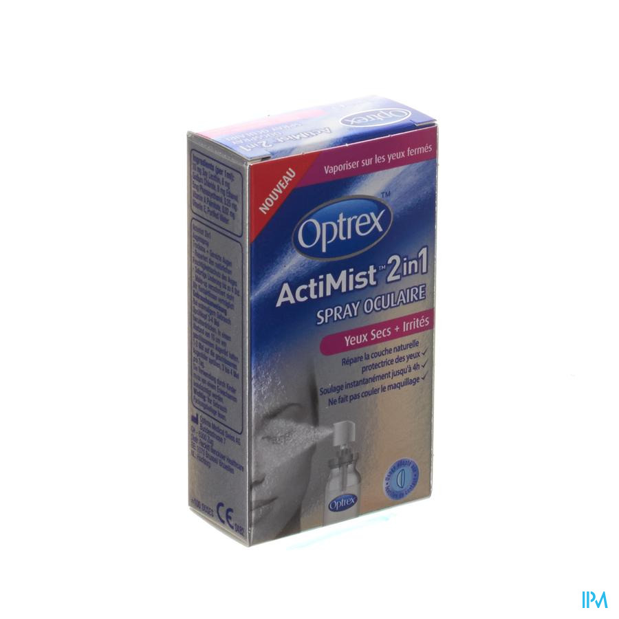 Optrex Actimist Spray Ocul. Yeux Secs-irrites 10ml