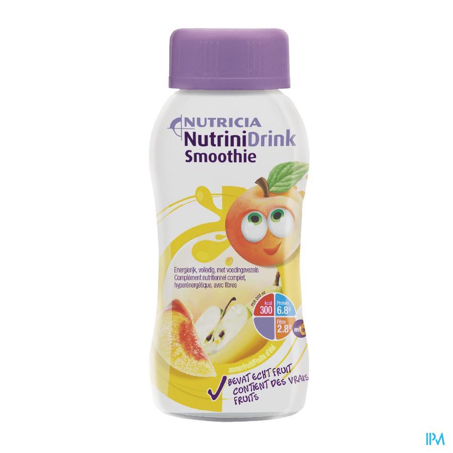 Nutrinidrink Smoothie Zomerfruit Flacon 200 ml  -  Nutricia