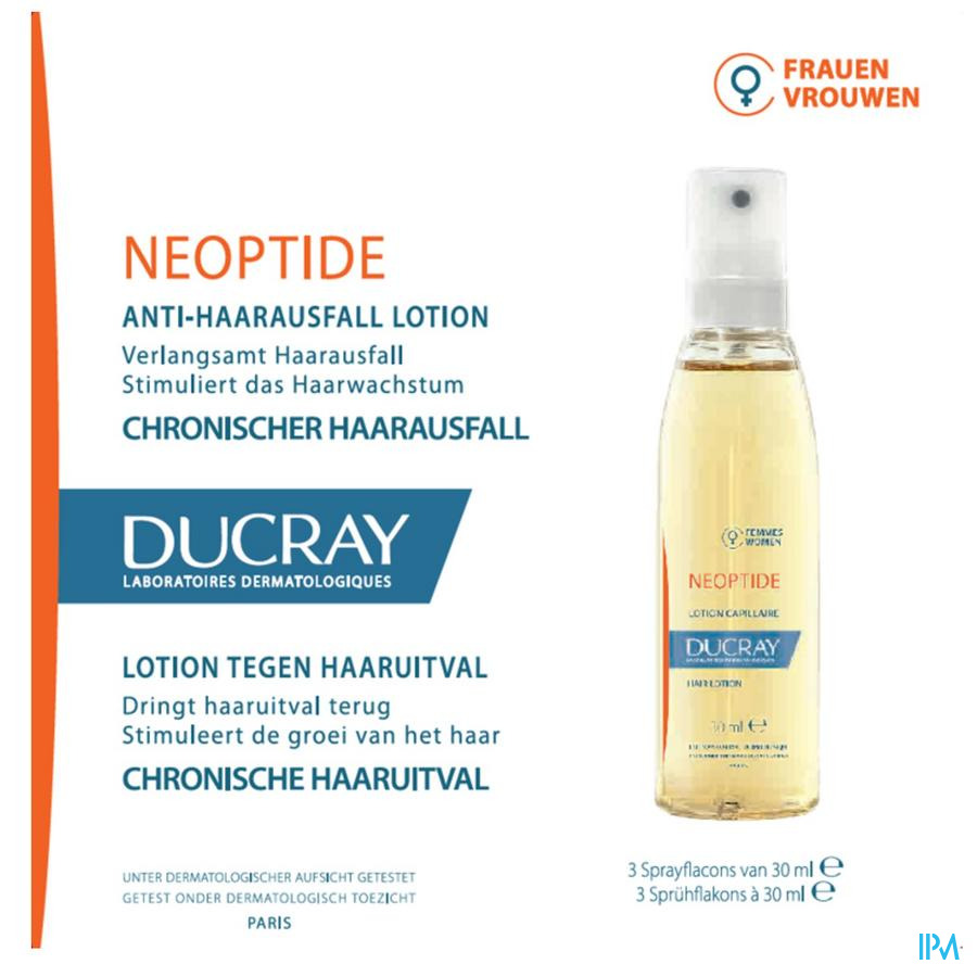 DUCRAY NEOPTIDE FEMME LOTION 3X30 ML