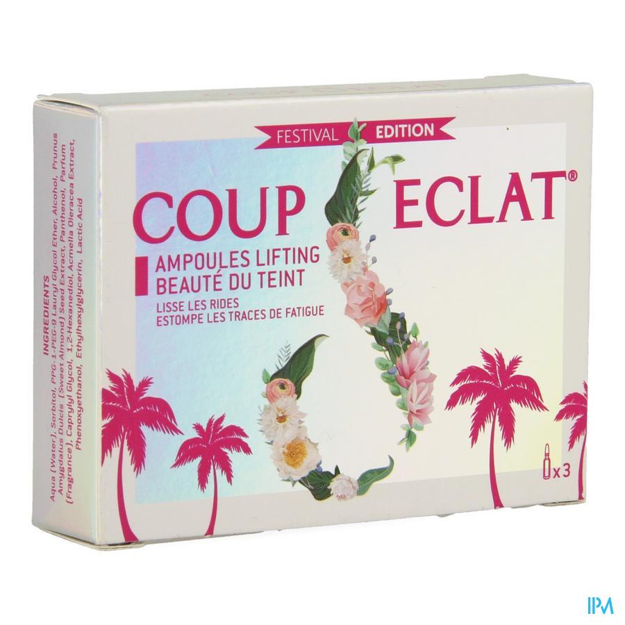 Coup D'eclat Lifting Ampullen Festival Edit. 3x1ml