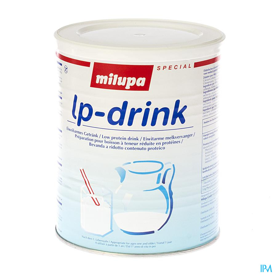 Milupa Lp Drink 400 gr  -  Nutricia