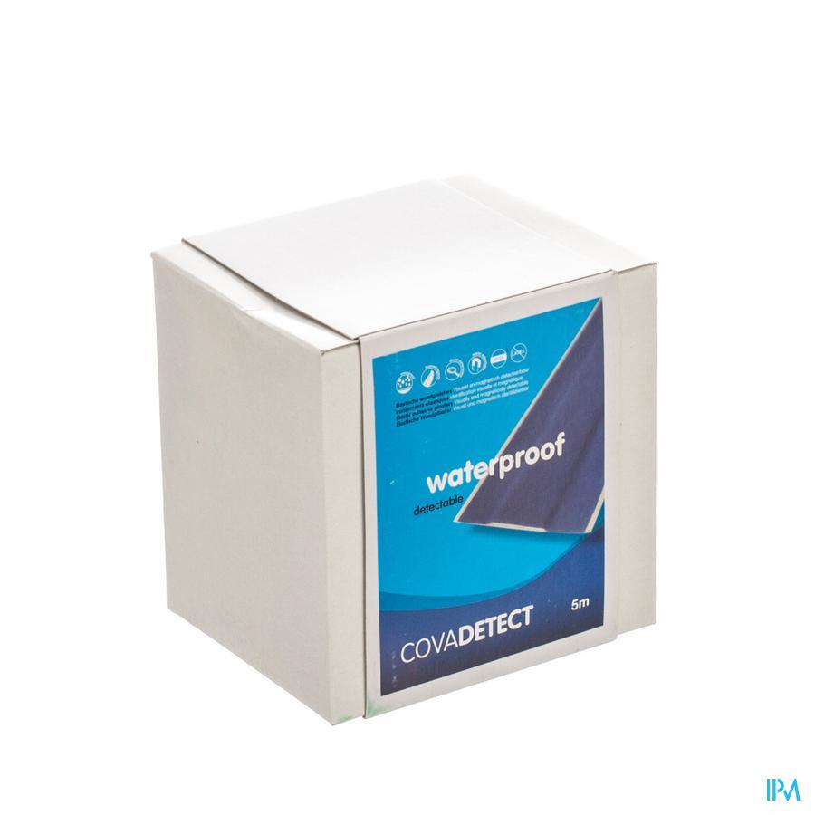 Cova Detectiepleister Blauw 8cmx5m Wtp 1 085w
