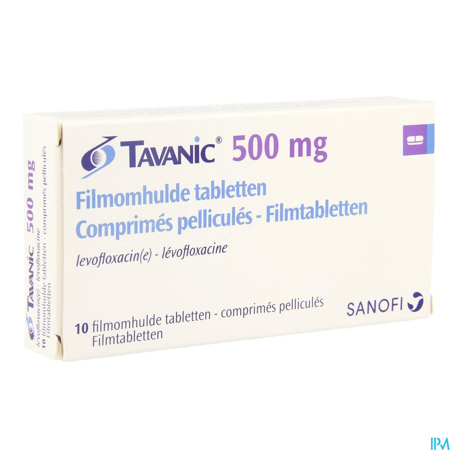 Tavanic 500 Comp 10 X 500mg