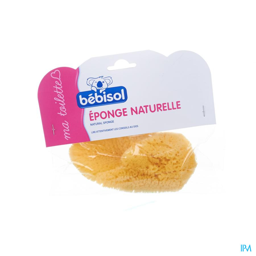 Bebisol Eponge Naturelle Mm