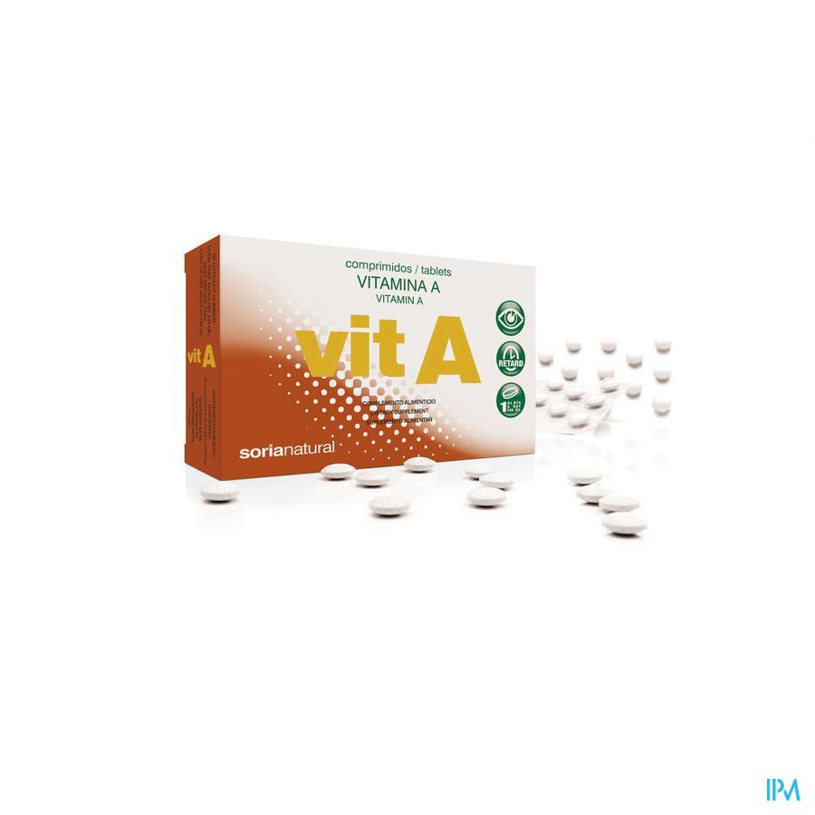 Soria Vitamine A retard 48 compr.
