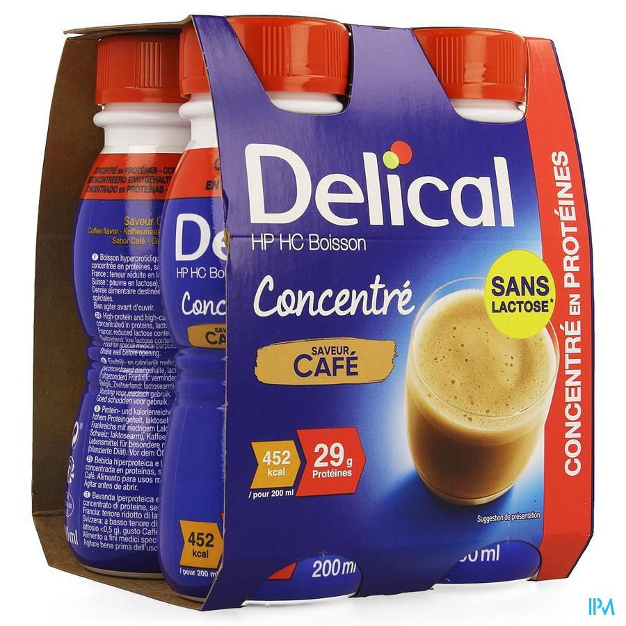 Delical Concentre Cafe 4x200ml