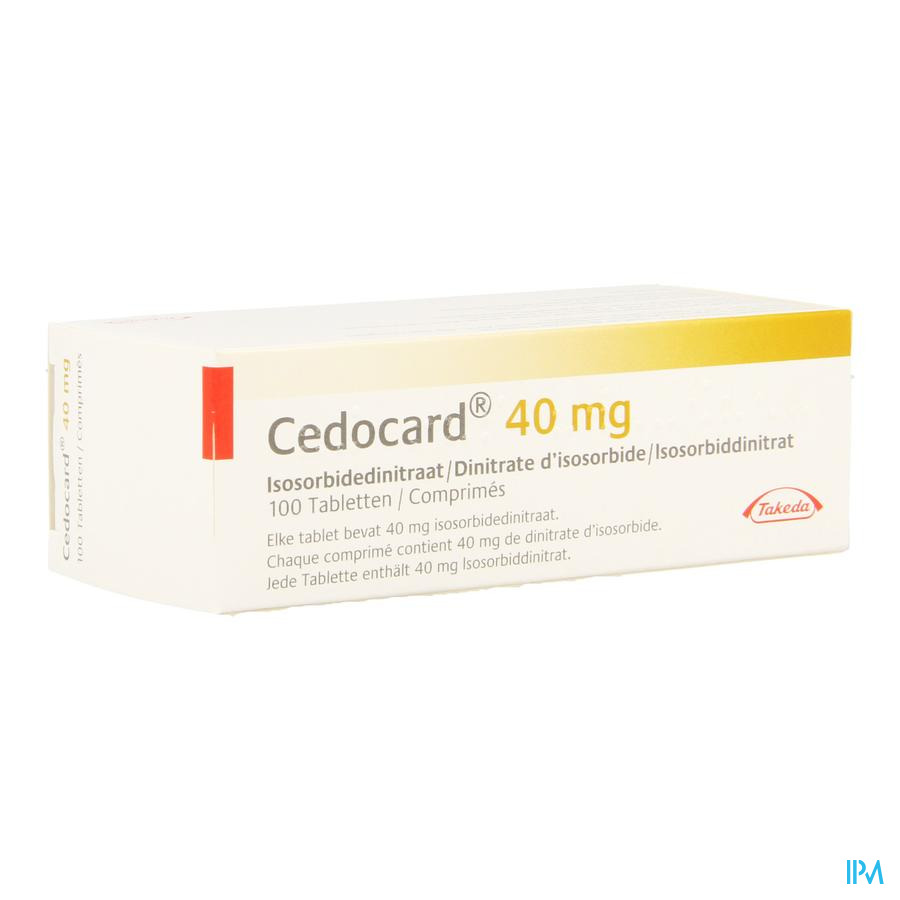 Cedocard 40 Comp Sec 100 X 40mg