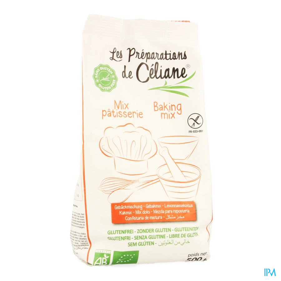 Celiane Mix Patisserie Bio 500g 4073