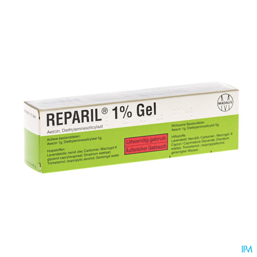 Reparil Gel 1% 40g