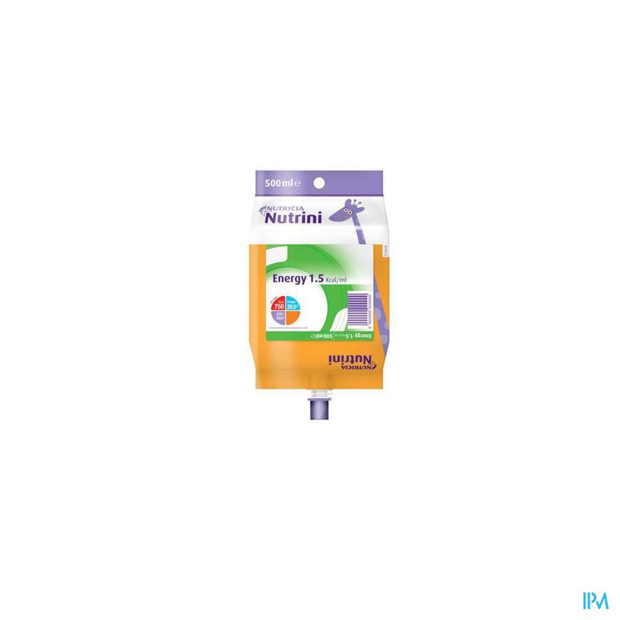 NUTRINI ENERGY 1-6J               PACK 500ML 65717