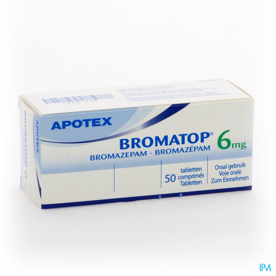 Bromatop 6mg Apotex Comp Sec 50 X 6mg