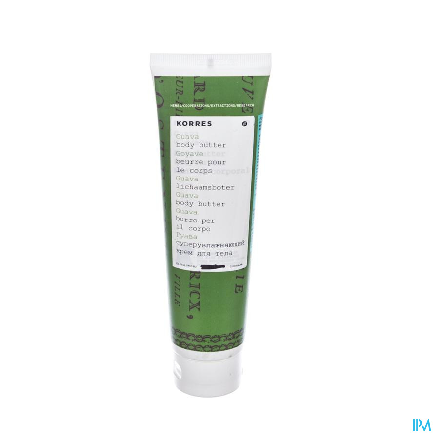 Korres Kb Body Butter Jasmijn 125ml