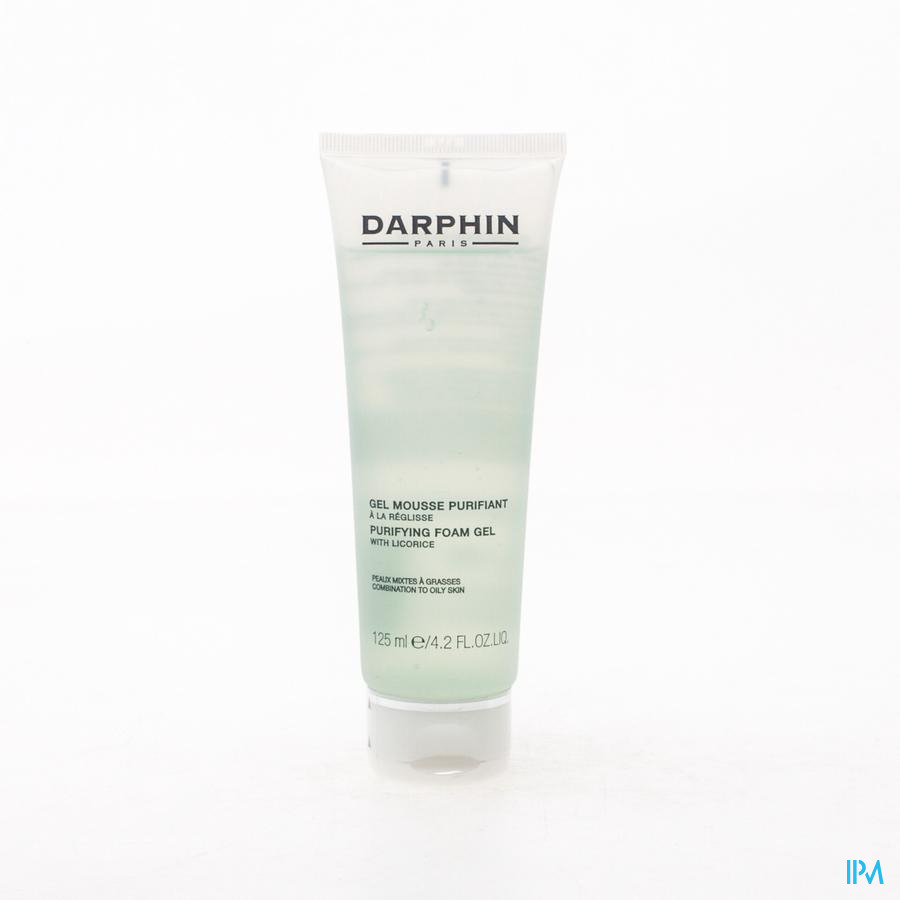 Darphin Gel Mousse Purifiant Tube 125ml D1r1