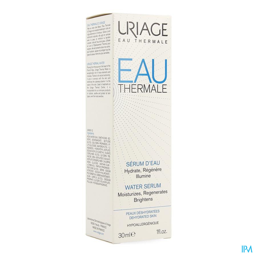 Uriage Eau Thermale Serum Eau 30ml