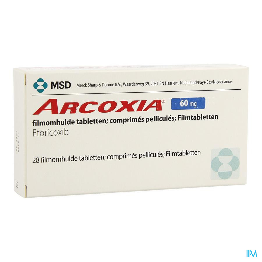 Arcoxia 60mg Comp 28